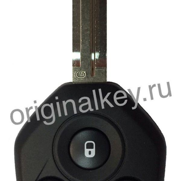 Ключ для Subaru Impreza 2011-2015, Forester 2012-2014, XV 2011-2016, WRX 2013-2015
